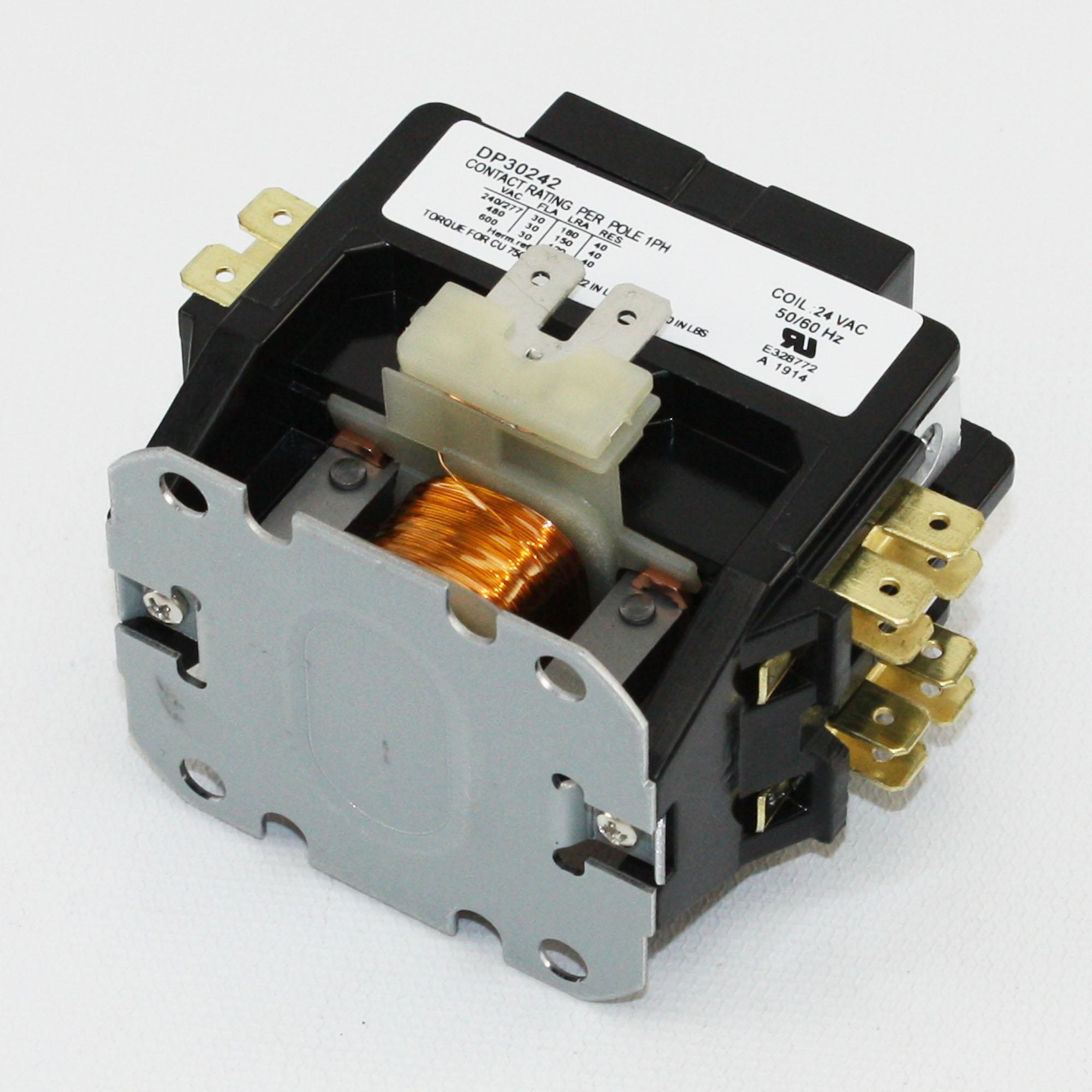 2 Pole Definite Purpose Contactor - Wiring DATA •