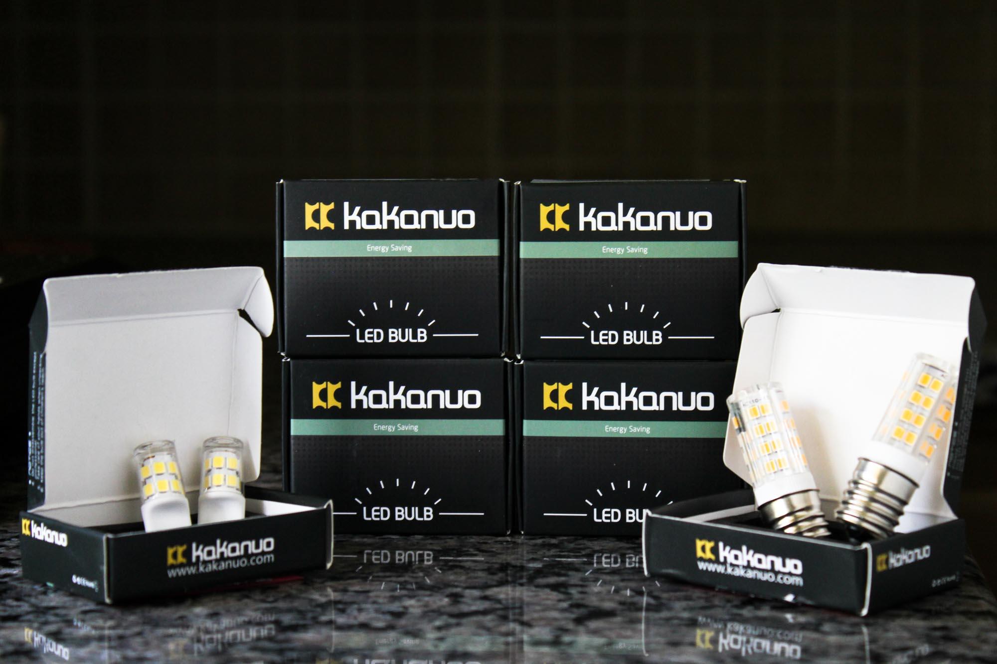 Kakanuo LED Appliance Light Bulbs
