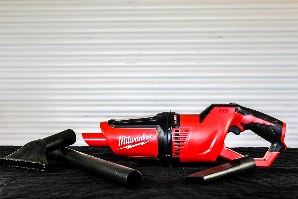 Milwaukee M12 Handheld Cordless Vacuum, for job sites, portable vacuum for car, and house cleaning