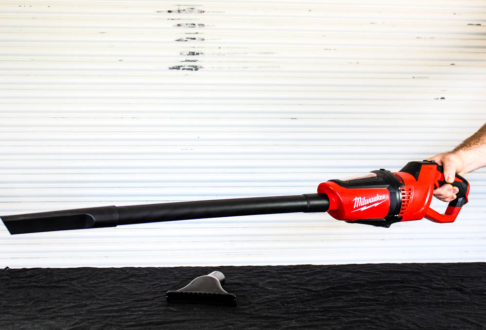 Milwaukee M12 handheld compact vacuum for job sites, home, and is a great portable vacuum cleaner for the car