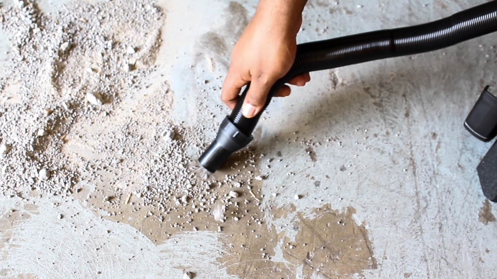 The Milwaukee Wet Dry Vacuum picks up industrial dust, and heavy duty messes!
