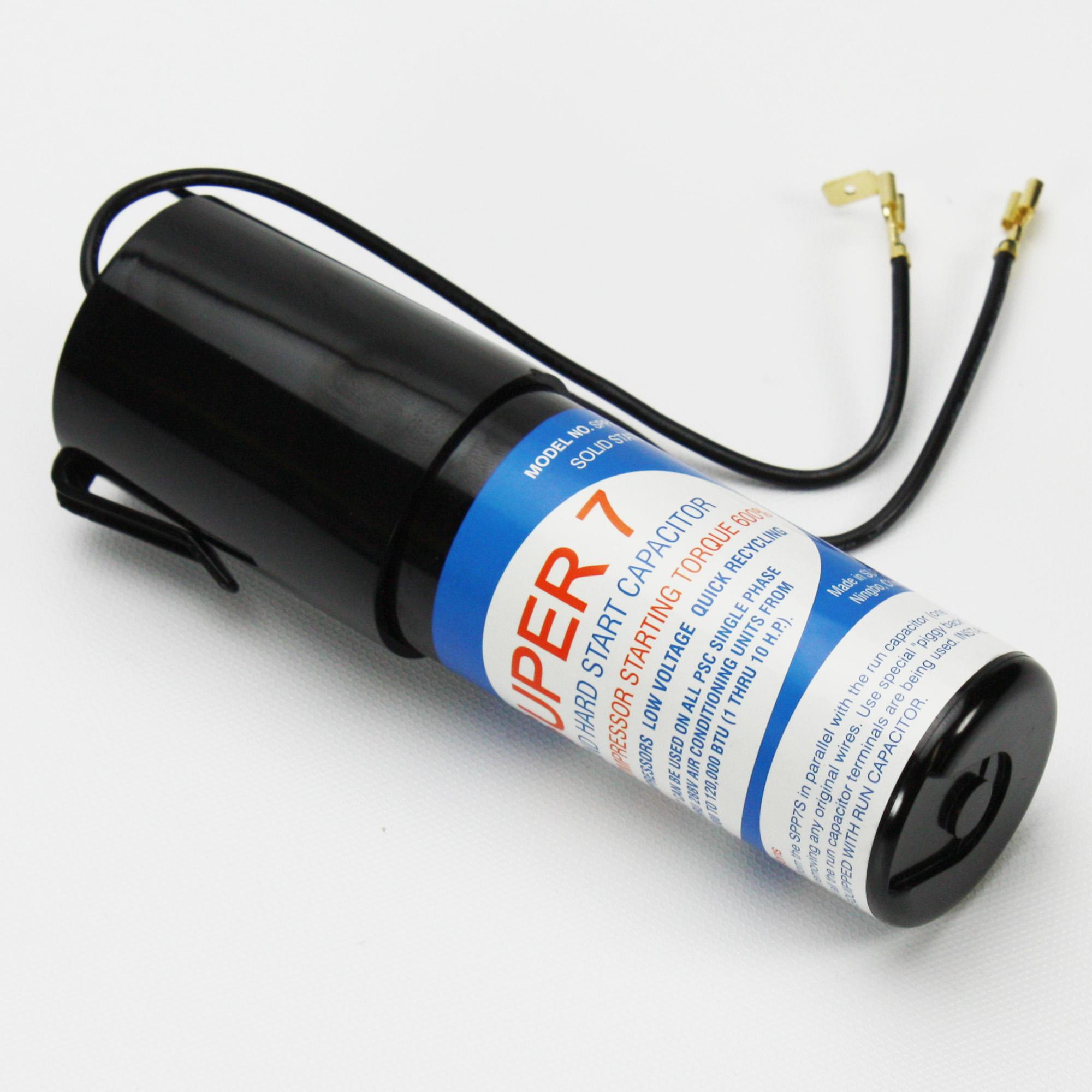 Supco SPP7S Super Seven Hard Start Kit PTC Relay and Start Capacitor ...