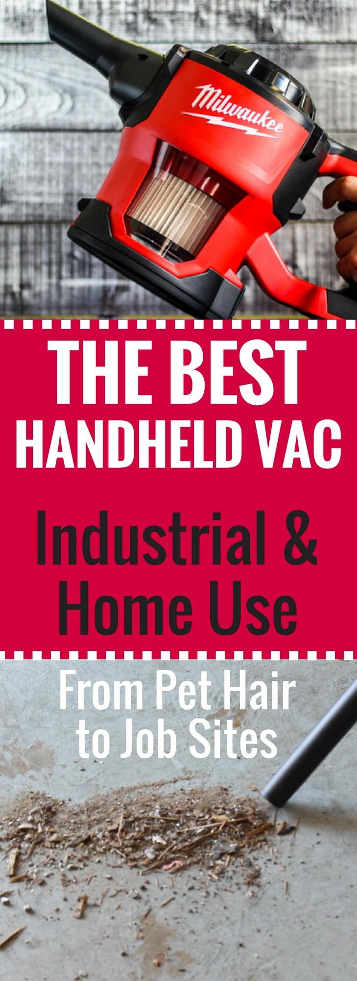 The Milwaukee Handheld Vacuum is the BEST cordless vacuum on the market!
