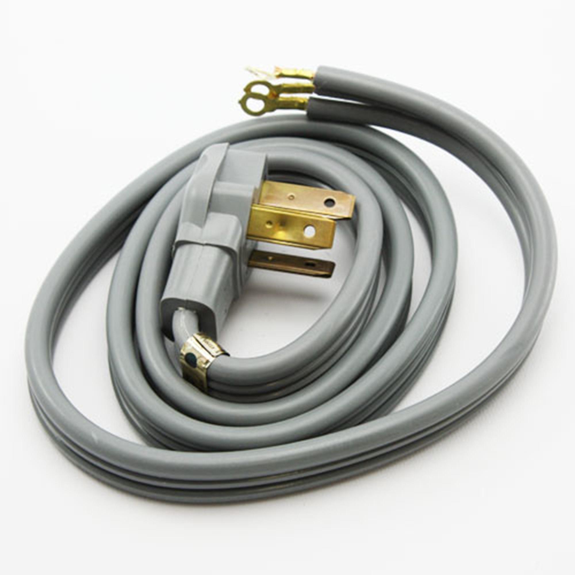 range stove oven power cord 3 wire 5 39 long 40a 220v. Black Bedroom Furniture Sets. Home Design Ideas