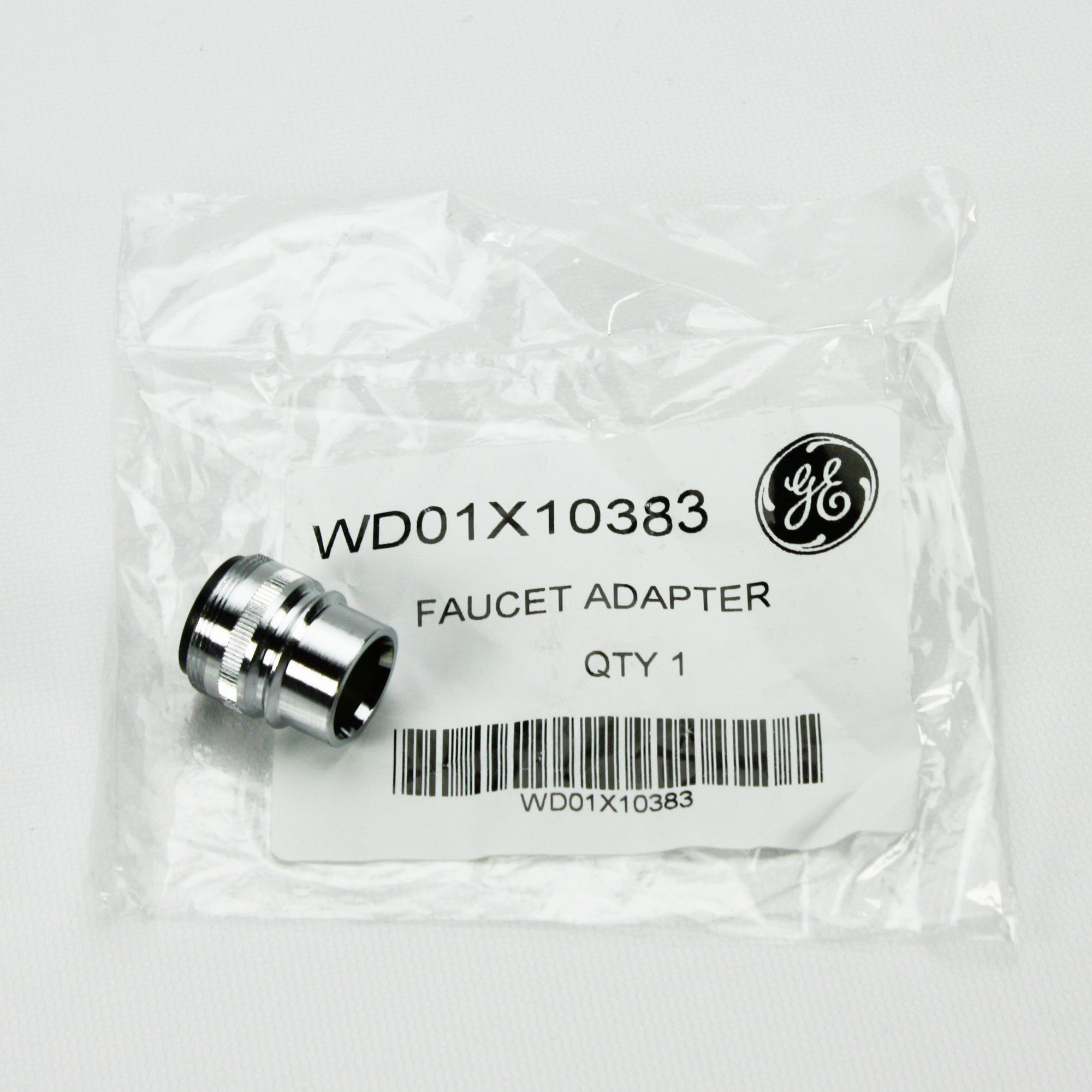 WD01X10383 For GE Portable Dishwasher Faucet Adapter and Seal ...
