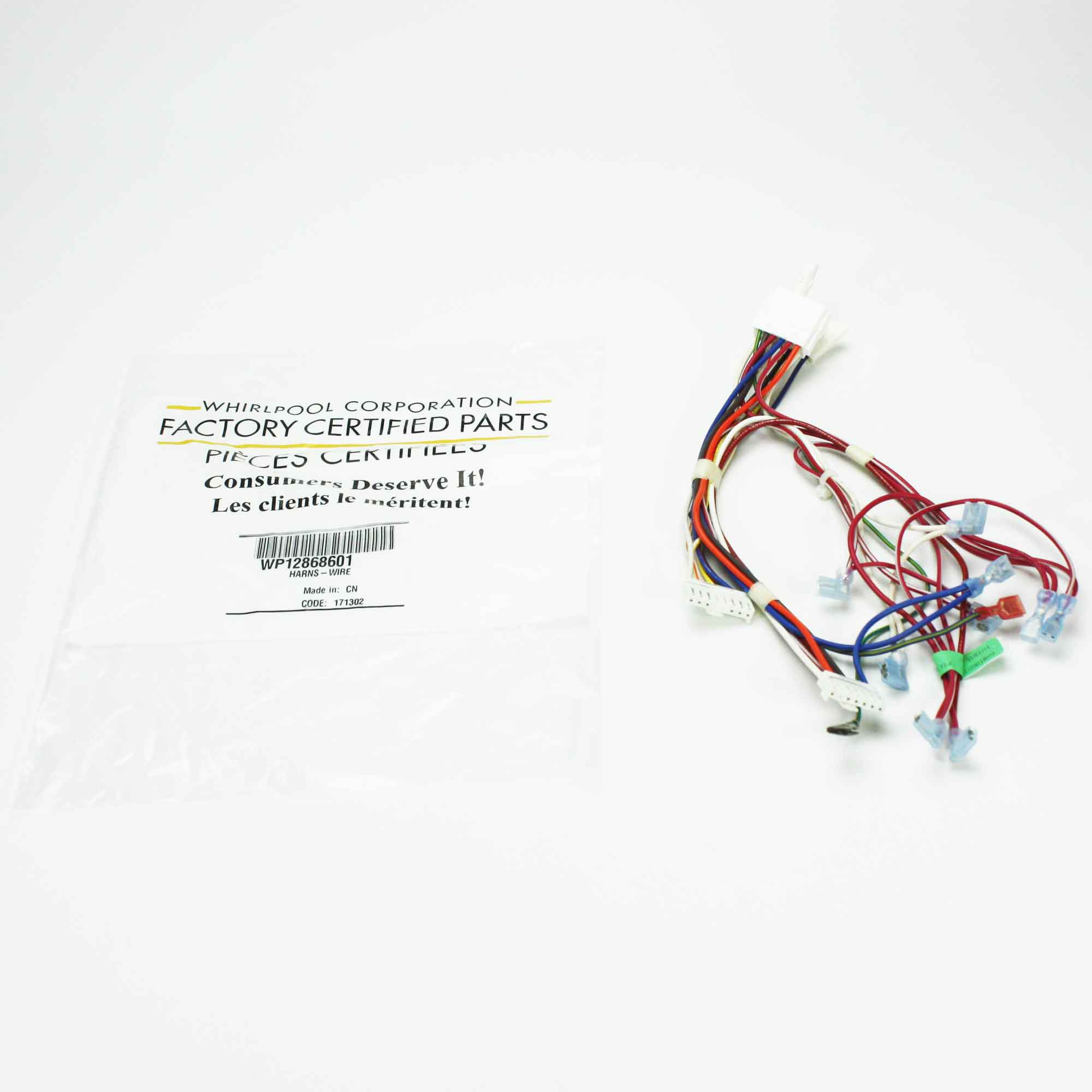 Wp12868601 For Whirlpool Refrigerator Wire Harness Ebay Appliance