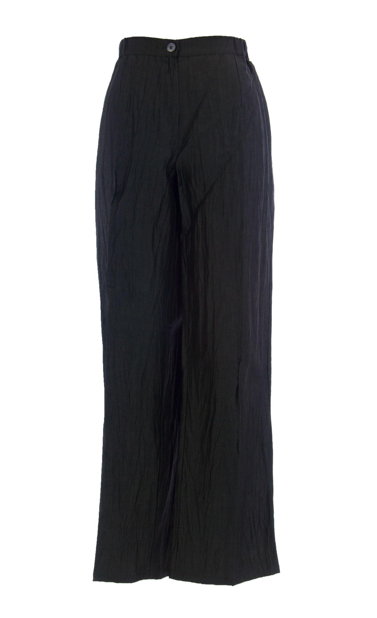 MARINA RINALDI by MaxMara Byte Olive Pre-Wrinkled Elastic Waist Dress Pants $465