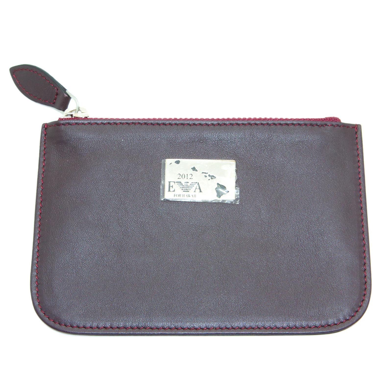 EMPORIO-ARMANI-Women-039-s-034-2012-034-Zip-Top-Coin-Purse-Wallet-YEMG99-195-NWT thumbnail 11