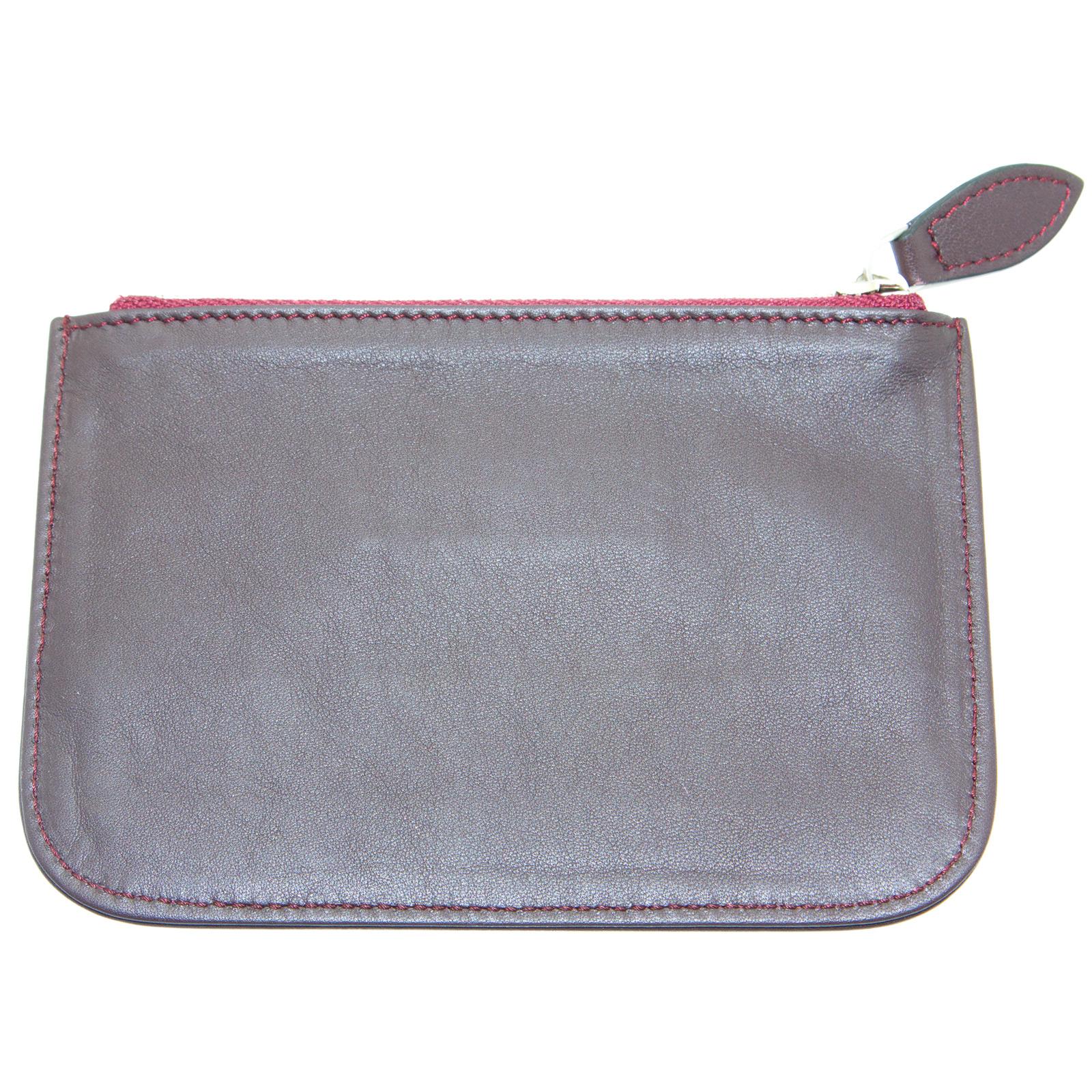 EMPORIO-ARMANI-Women-039-s-034-2012-034-Zip-Top-Coin-Purse-Wallet-YEMG99-195-NWT thumbnail 12