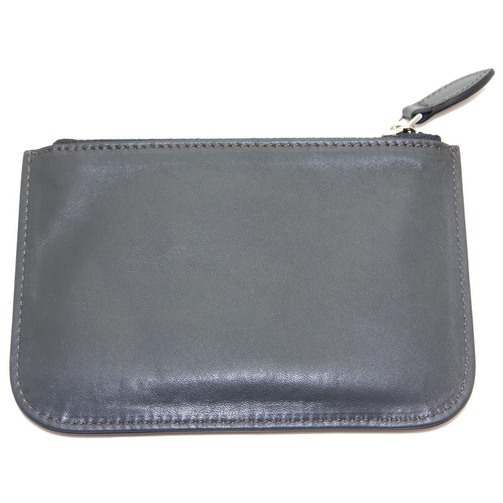 EMPORIO-ARMANI-Women-039-s-034-2012-034-Zip-Top-Coin-Purse-Wallet-YEMG99-195-NWT thumbnail 6
