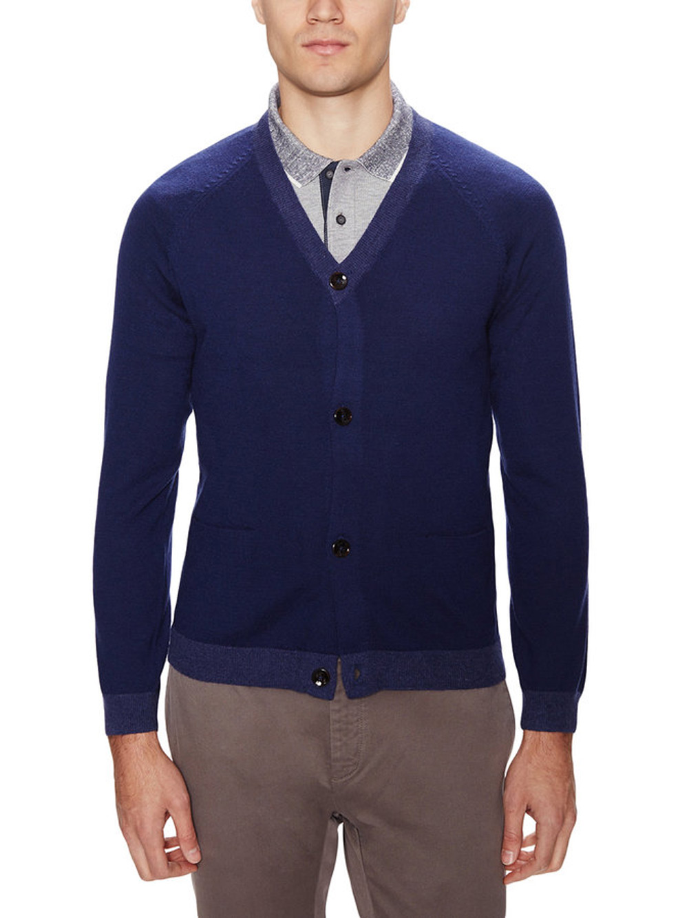 SURFACE TO AIR Men's Bright Blue Icarus Cardigan Sweater $260 NEW ...