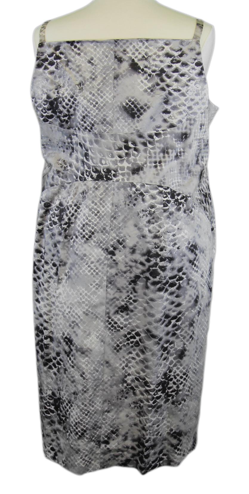 Marina Marina Marina Rinaldi By Maxmara Legnano Mehrfarbig Schlangenhaut Kleid Nwt     | Hohe Qualität und Wirtschaftlichkeit  | New Products  | Helle Farben  | Starke Hitze- und Hitzebeständigkeit  fc32f7