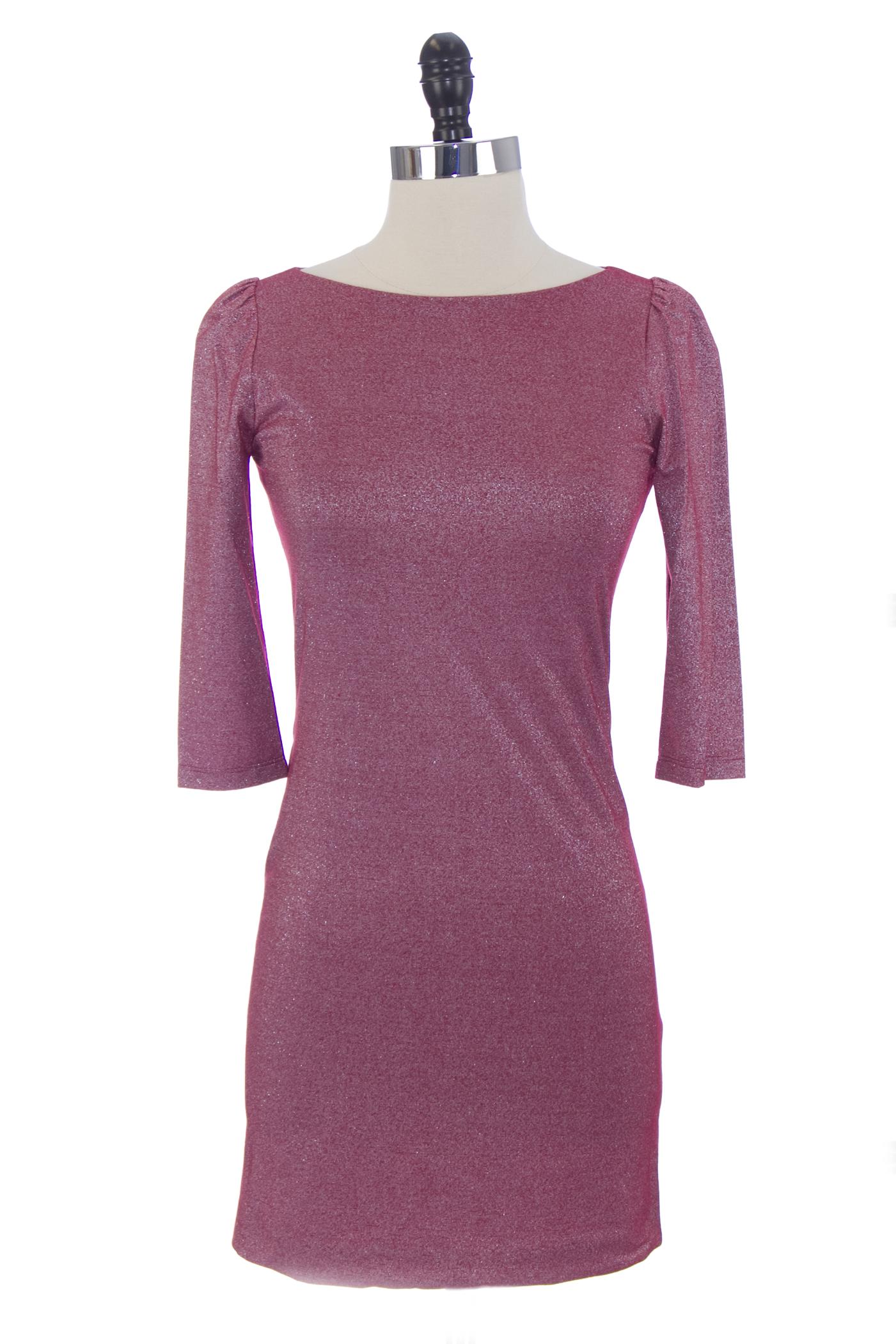 166e30be598 VON VONNI Women s Tropic Red London Elbow Sleeve Dress  170 NEW