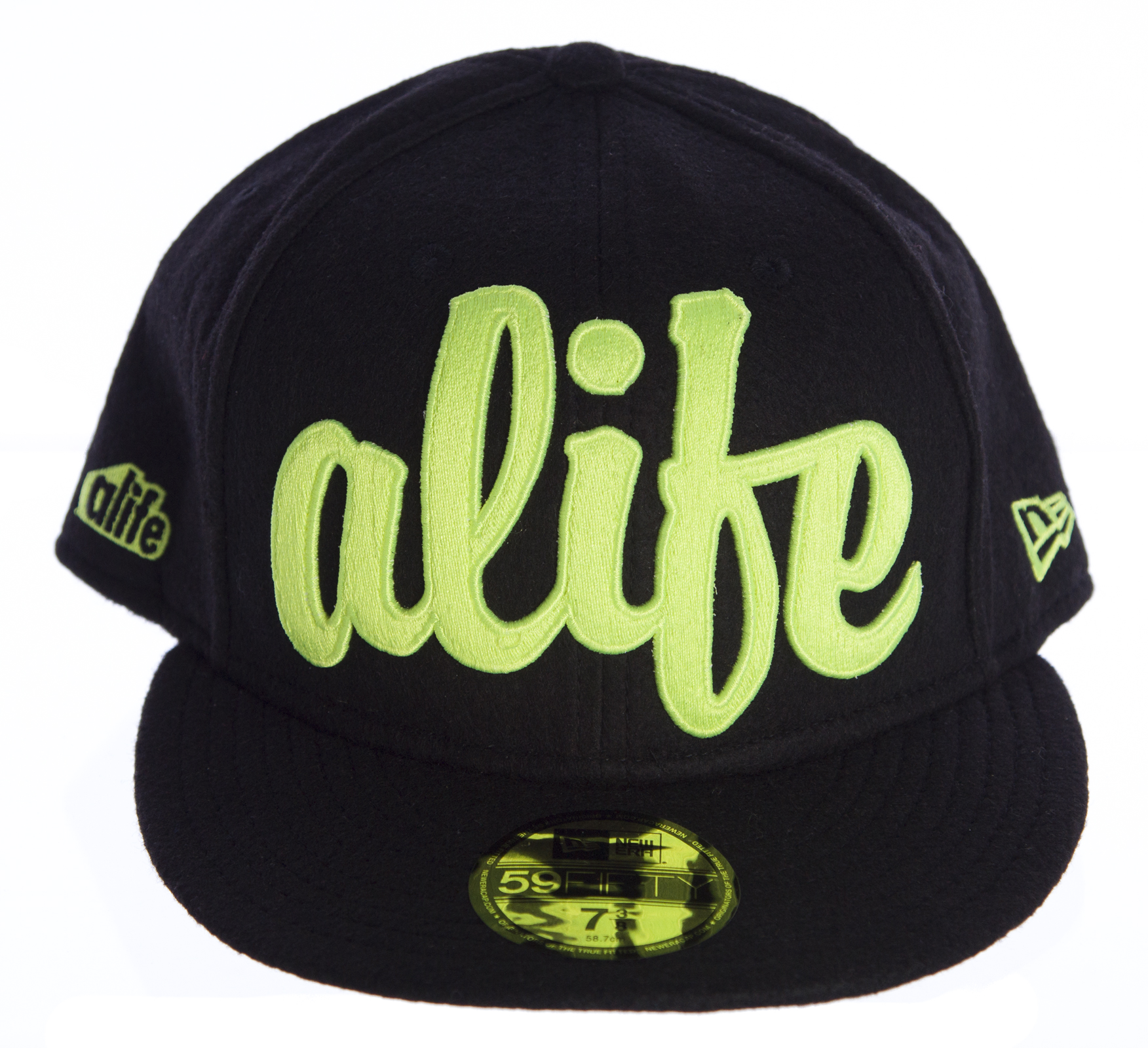 40a2d83928739 NEW ERA 59FIFTY Black Alife Ballout Fitted Hat Sz 7 3 8  50 NEW ...