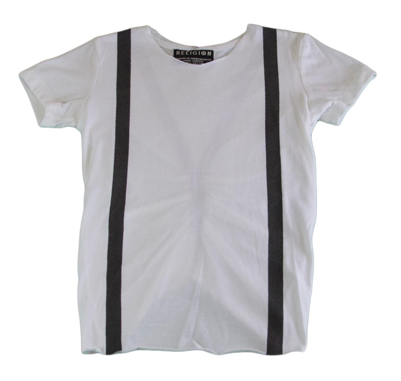 HOUSE OF THE GODS Girl/'s Black//Blue Short Sleeve Shirt BL10DHG3 NEW