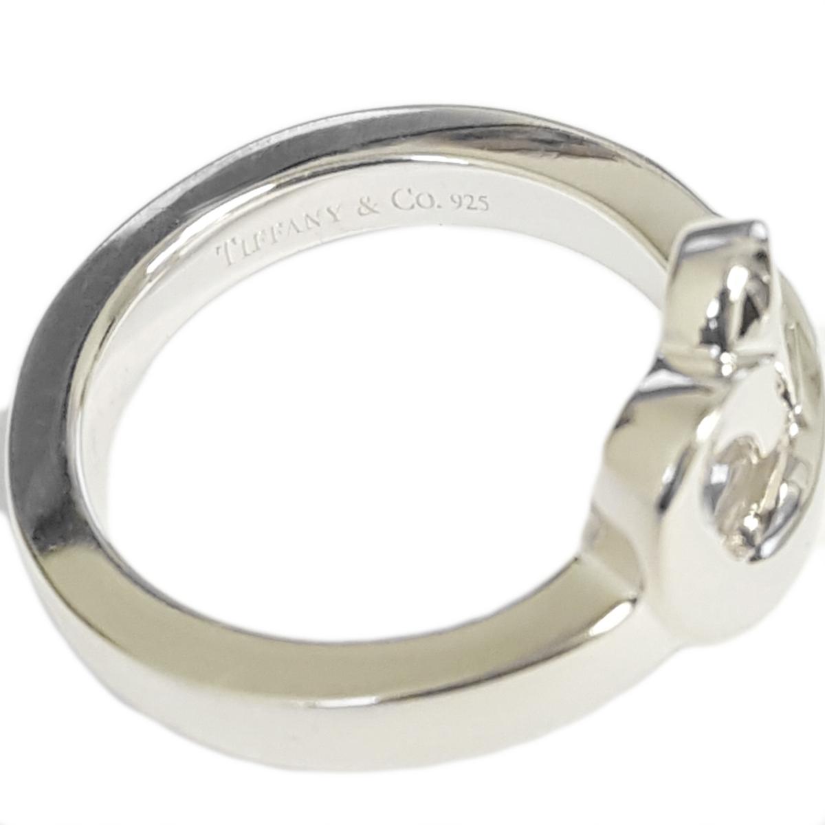 TIFFANY & CO. Paloma Picasso Loving Heart Ring w/ Diamond Sz 6 ...