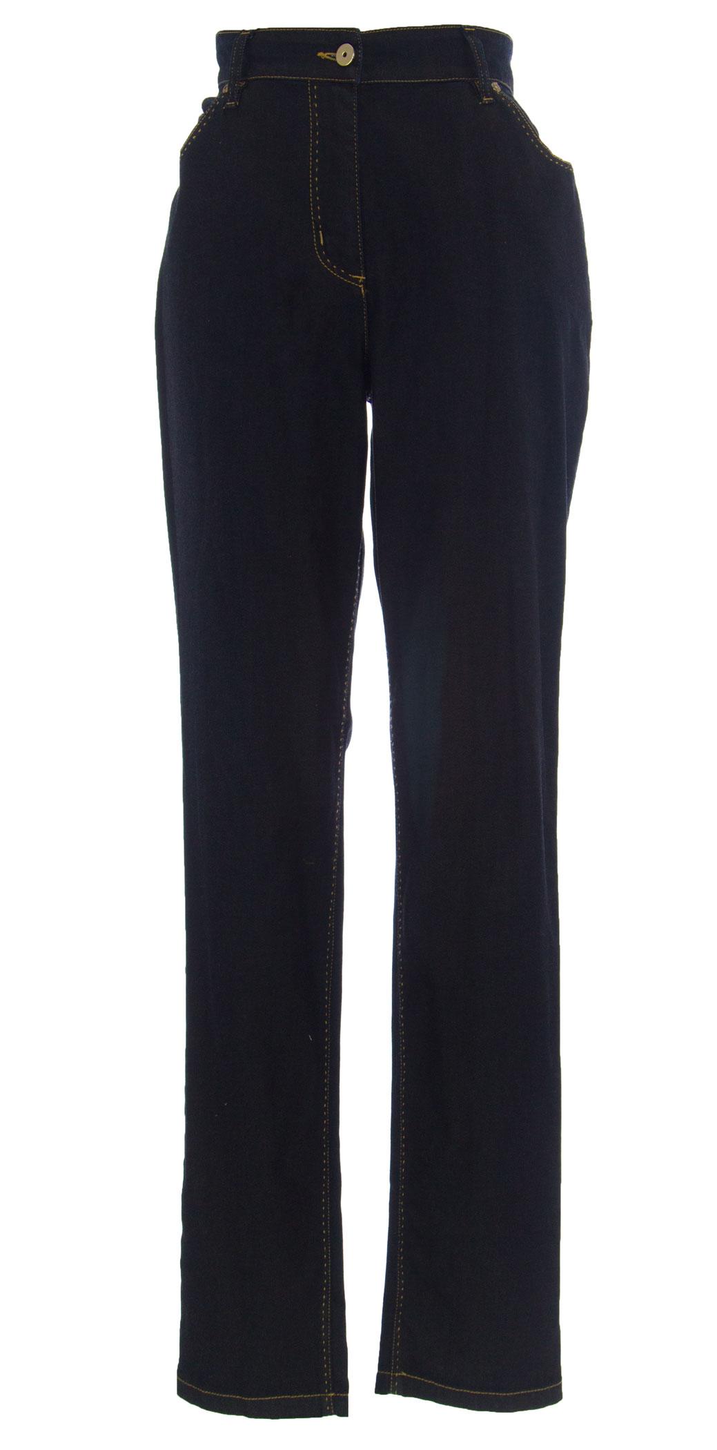 Marina Rinaldi By Maxmara Wane Dunkle Waschung Hautenge Jeans 22w