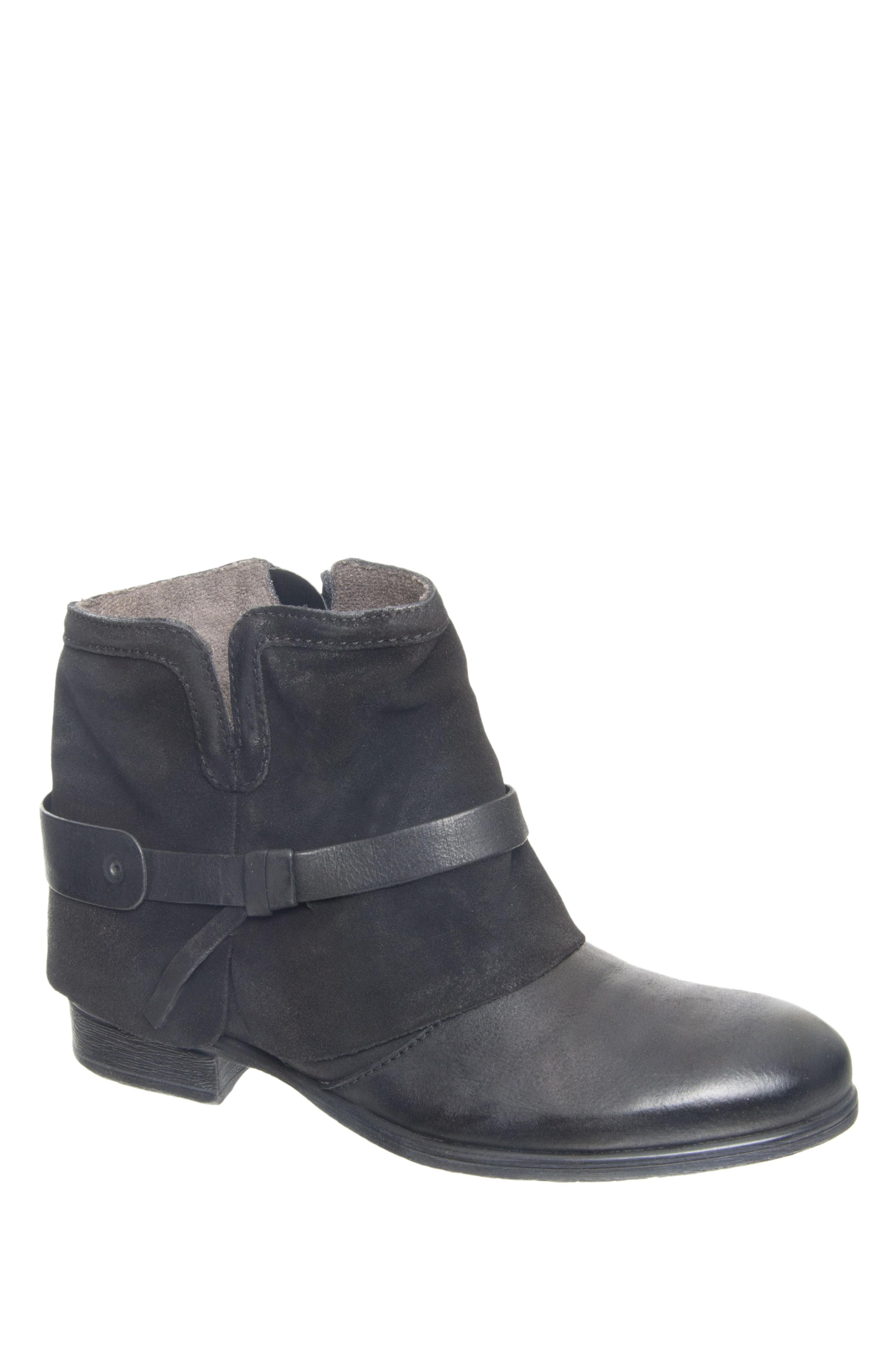 MIZ MOOZ Seymour Low Heel Booties - Black