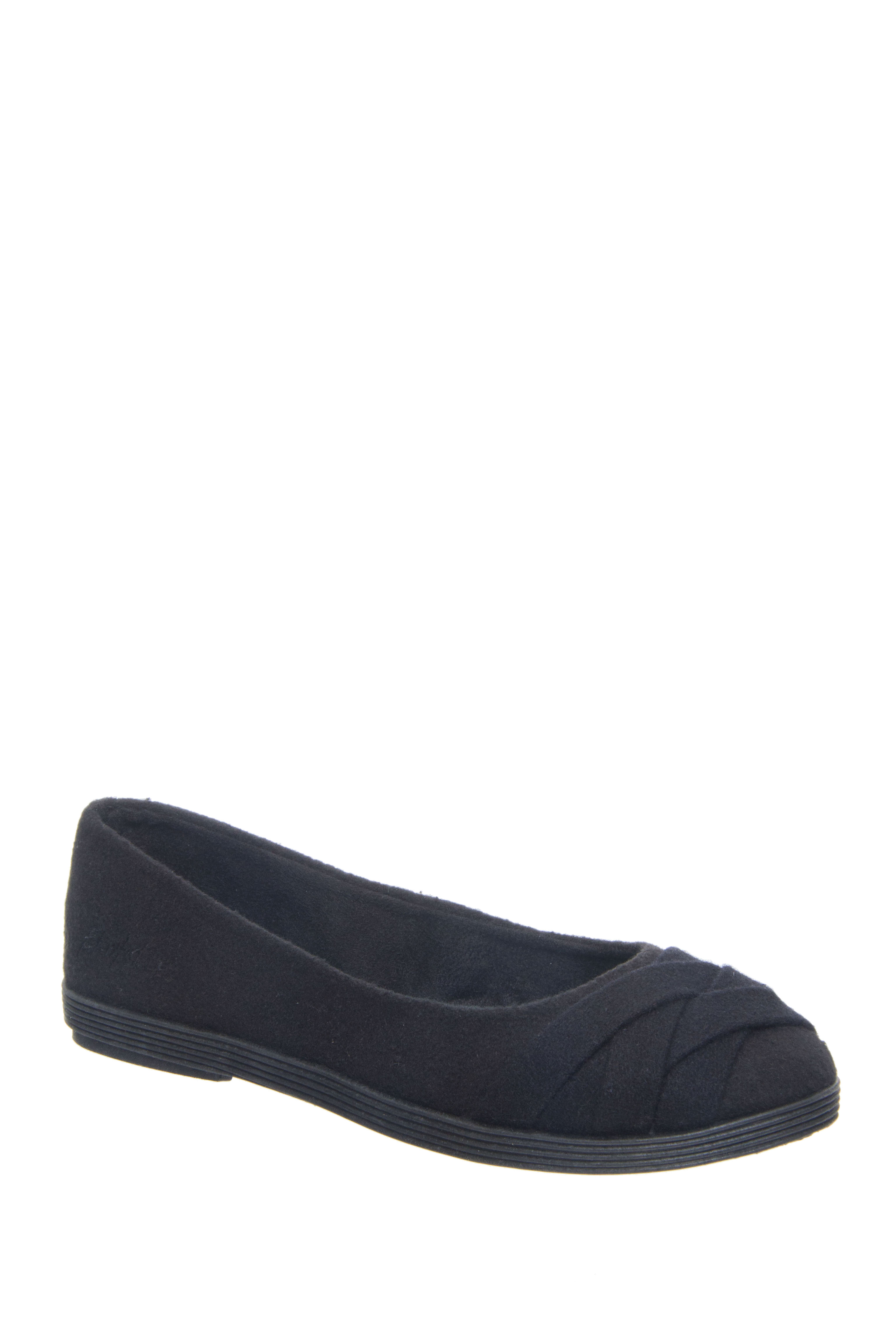 Blowfish Glo 2 Round Toe Flats - Black