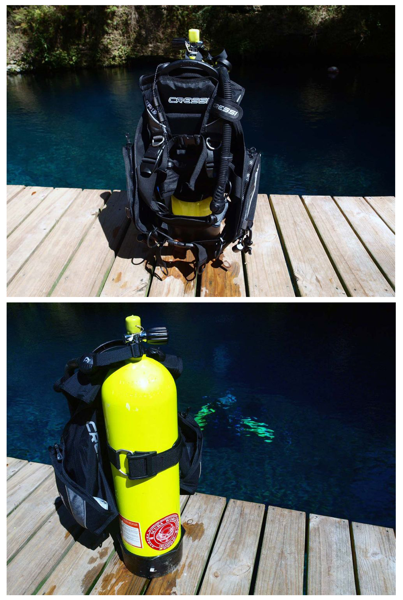 Cressi-R1-BCD-Leonardo-Dive-Computer-AC2Compact-Regulator-Set-Scuba-Gear-Package thumbnail 7