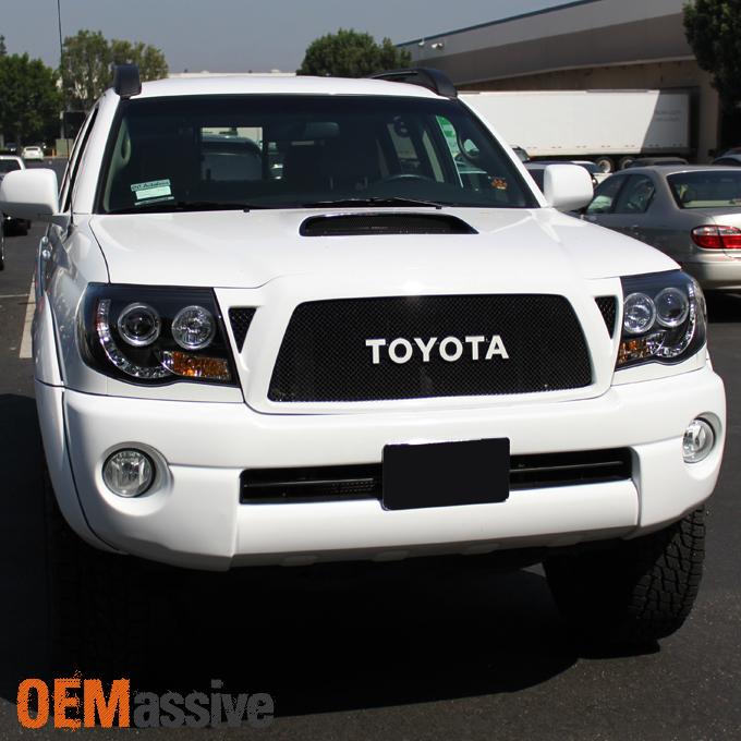 Fits 2005-2011 Toyota Tacoma Black Halo Projector LED ...