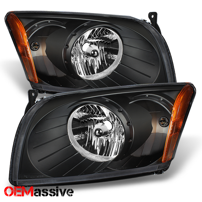FOR DODGE CALIBER 2007 2008 2009 2010 2011 2012 HEADLIGHTS RIGHT /& LEFT PAIR