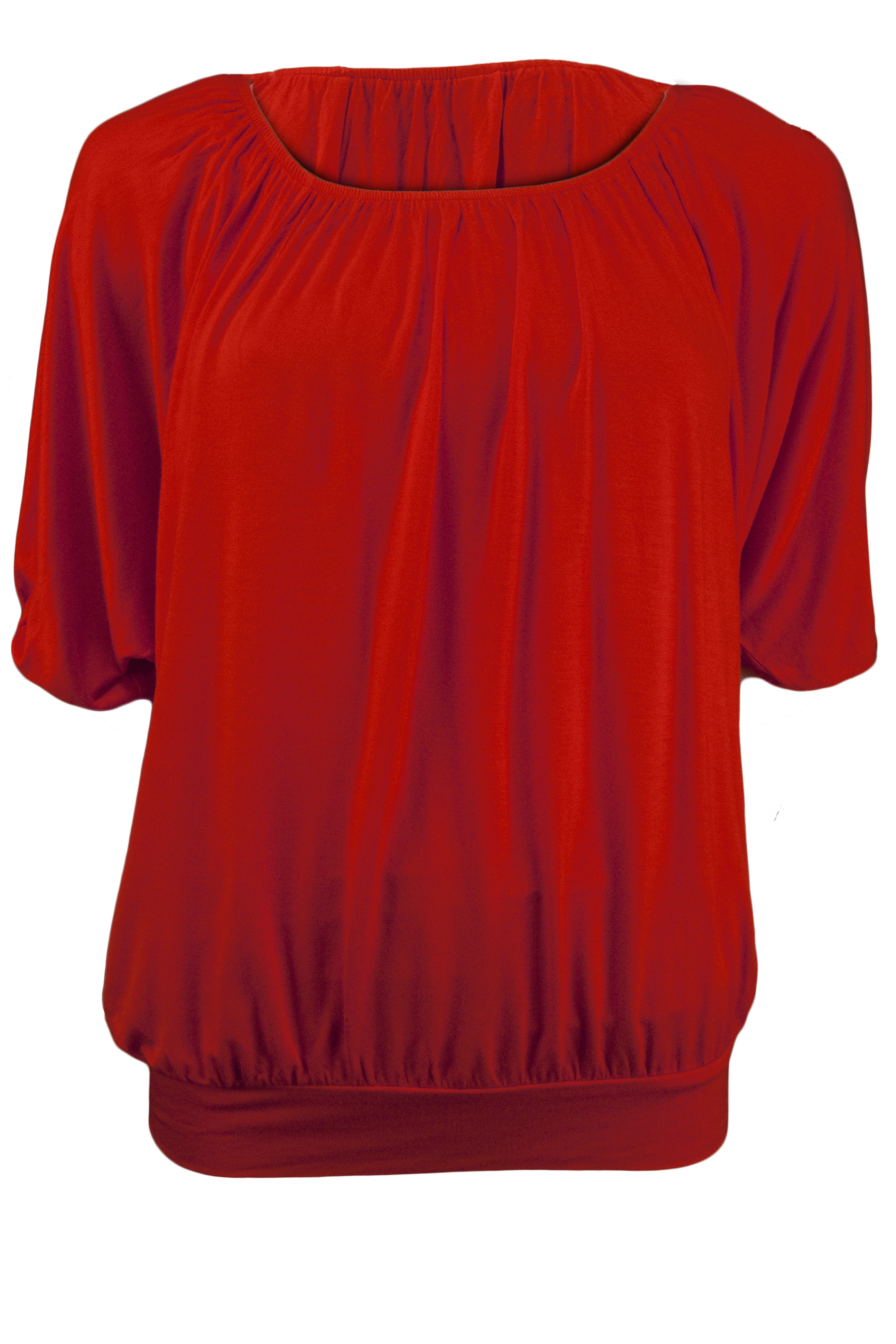 This women's plus-size dolman banded bottom top is perfect for any occasion. This women's plus-size dolman banded bottom top provides comfort and style. Wear this to the office with a skirt and blazer or at home with jeans.