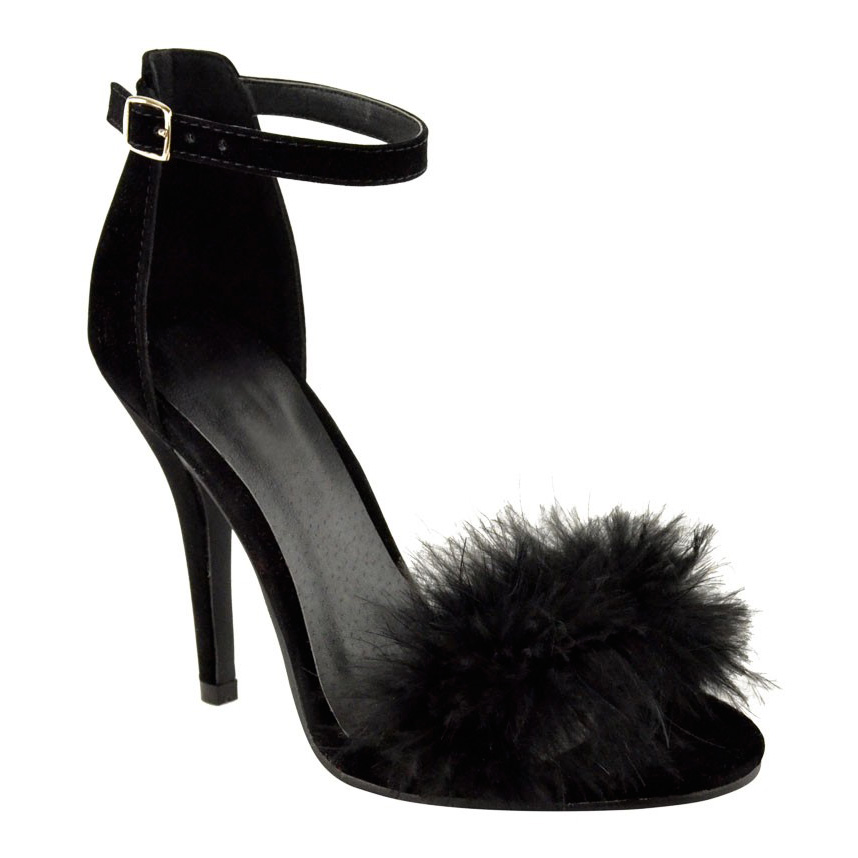 Fluffy Shoes Womens