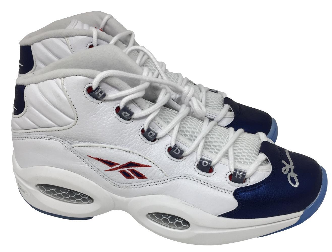 221c742fb1aa ... germany allen iverson 76ers signed reebok iverson basketball shoes jsa  wp920571 d48b6 46b1b