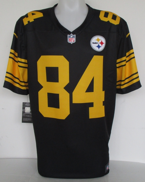 pretty nice d7b27 e1cf2 sweden steelers color rush jersey antonio brown 442f8 44a59
