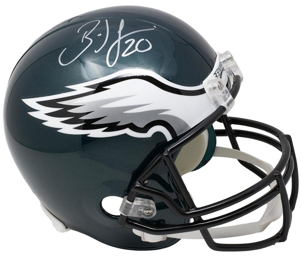 f4f7d95b6f0 Brian Dawkins Signed Philadelphia Eagles Full Size Riddell Helmet JSA