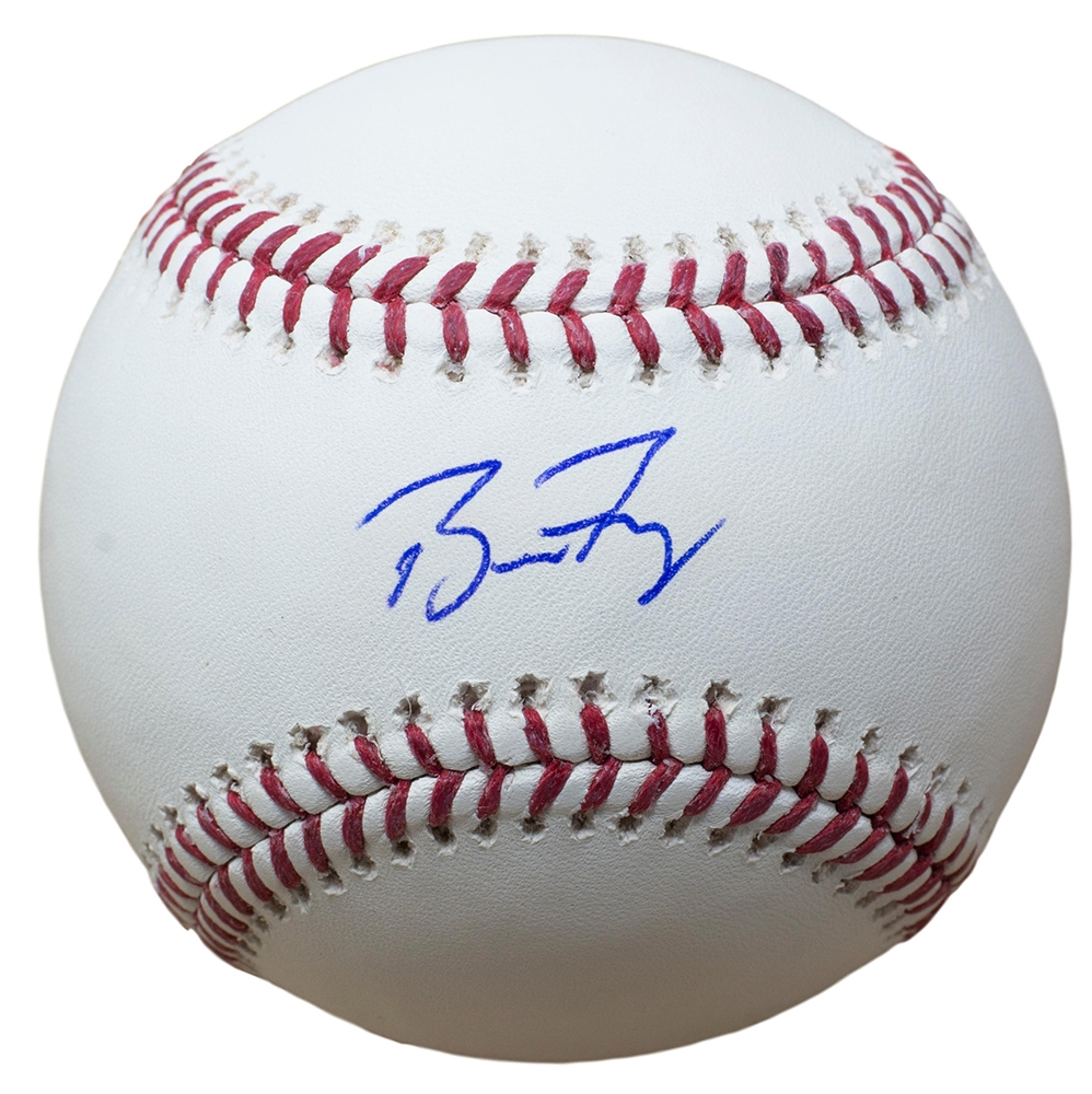 3d2742757ff Buster Posey Giants Signed MLB Baseball w  Free Ball Cube JSA