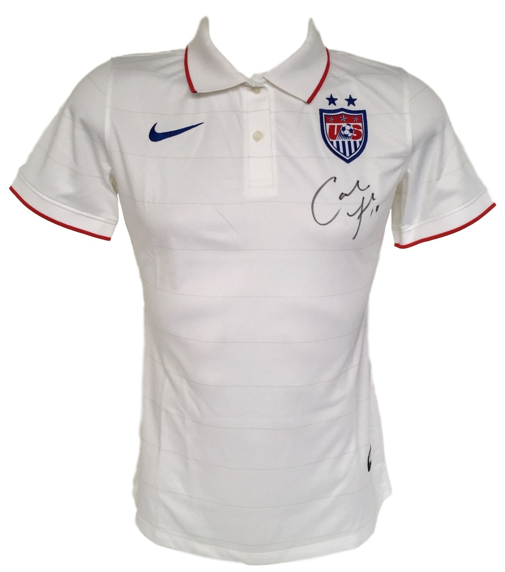 sports shoes a31db 372c9 Details about Carli Lloyd Signed Authentic Nike USA Collared Jersey Large  PSA