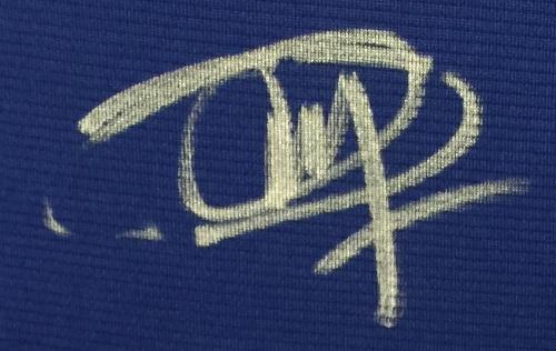 f883c32c154 Joel Embiid Signed Twice Philadelphia 76ers Blue Nike Replica Jersey  Fanatics