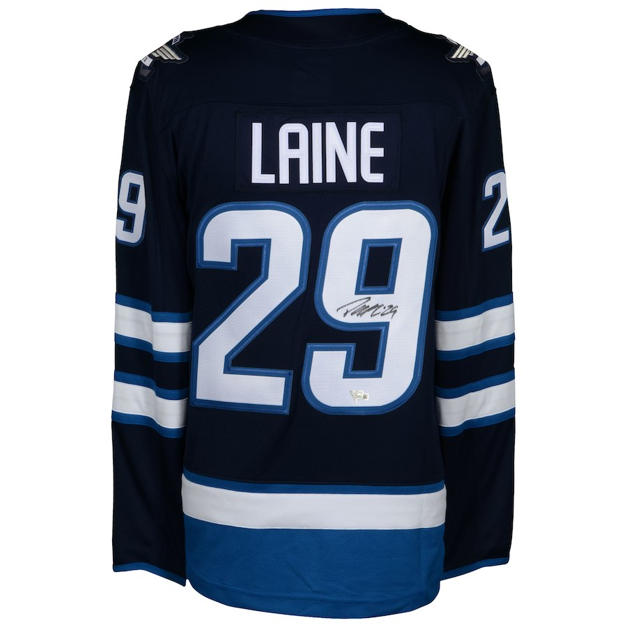 2503c6fdbee Patrik Laine Signed Winnipeg Jets NHL Fanatics Break Away Jersey ...
