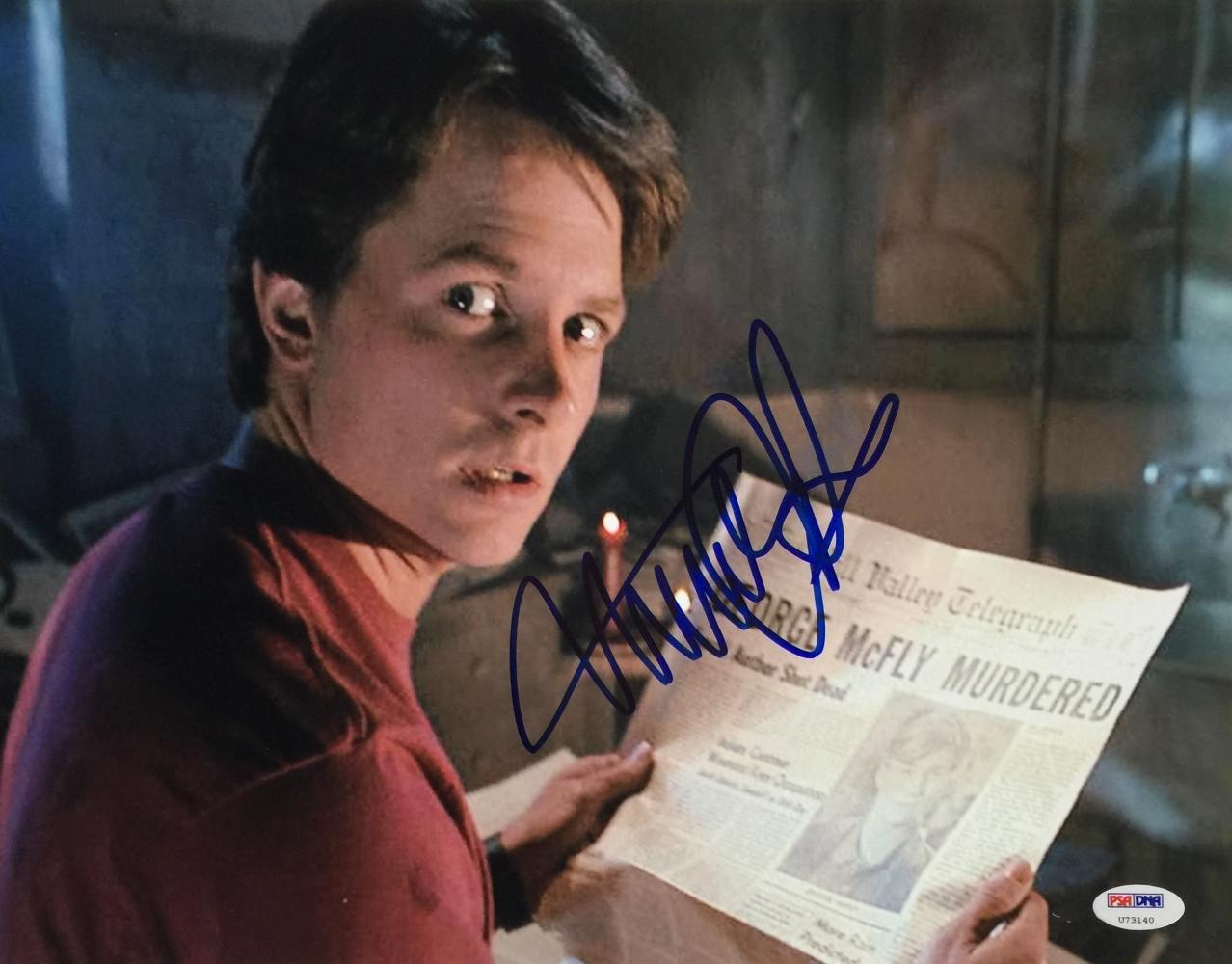Michael J Fox Signature