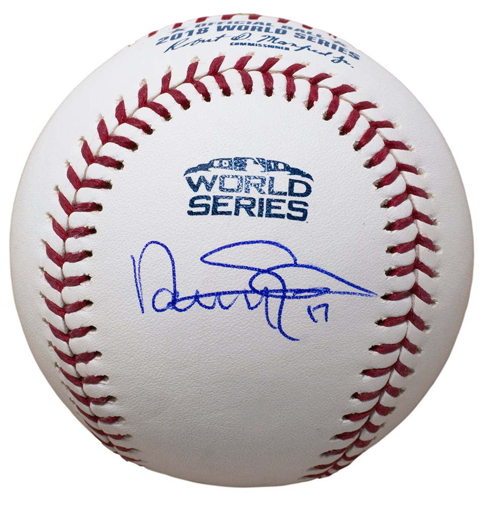 aa6e4d4ba Nathan Eovaldi Signed Boston Red Sox 2018 World Series Baseball JSA ...