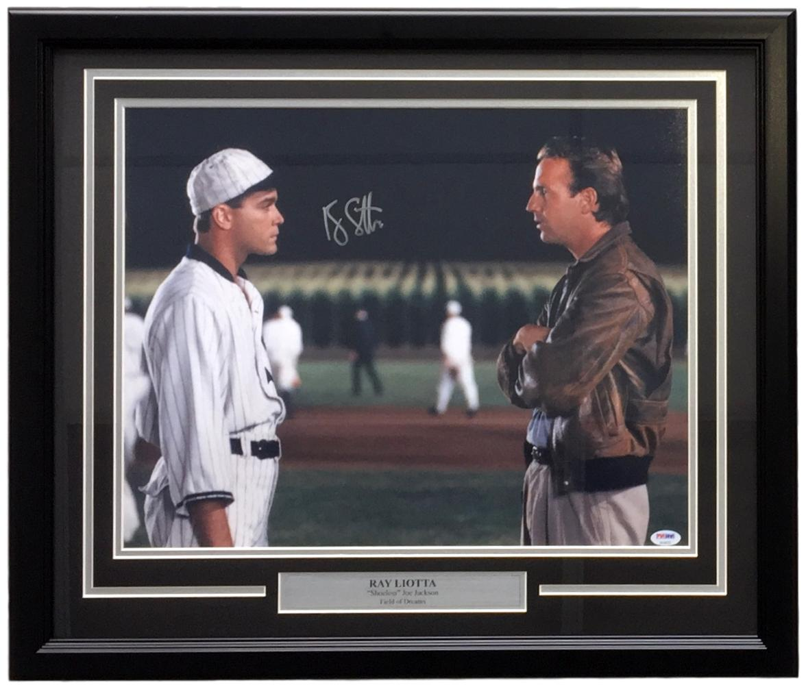 Ray liotta signed framed 16x20 field of dreams shoeless joe ray liotta signed framed 16x20 field of dreams shoeless joe jackson photo psa 1betcityfo Images