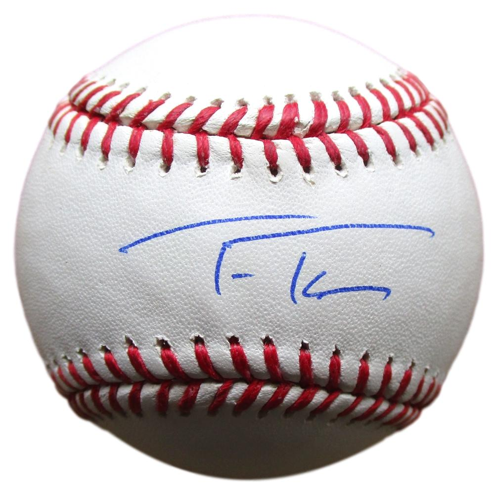 9caeaa6dd88 Trea Turner Nationals Signed MLB Baseball w  Free Ball Cube BAS