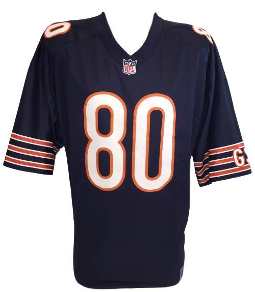 f9d186360c6 Trey Burton Signed Chicago Bears NFL Pro Line Replica Jersey JSA ITP