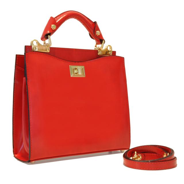 d61043a9b5e4 Details about Pratesi Womens Italian Leather Anna Maria Luisa de' Doctor  Small Lady Bag