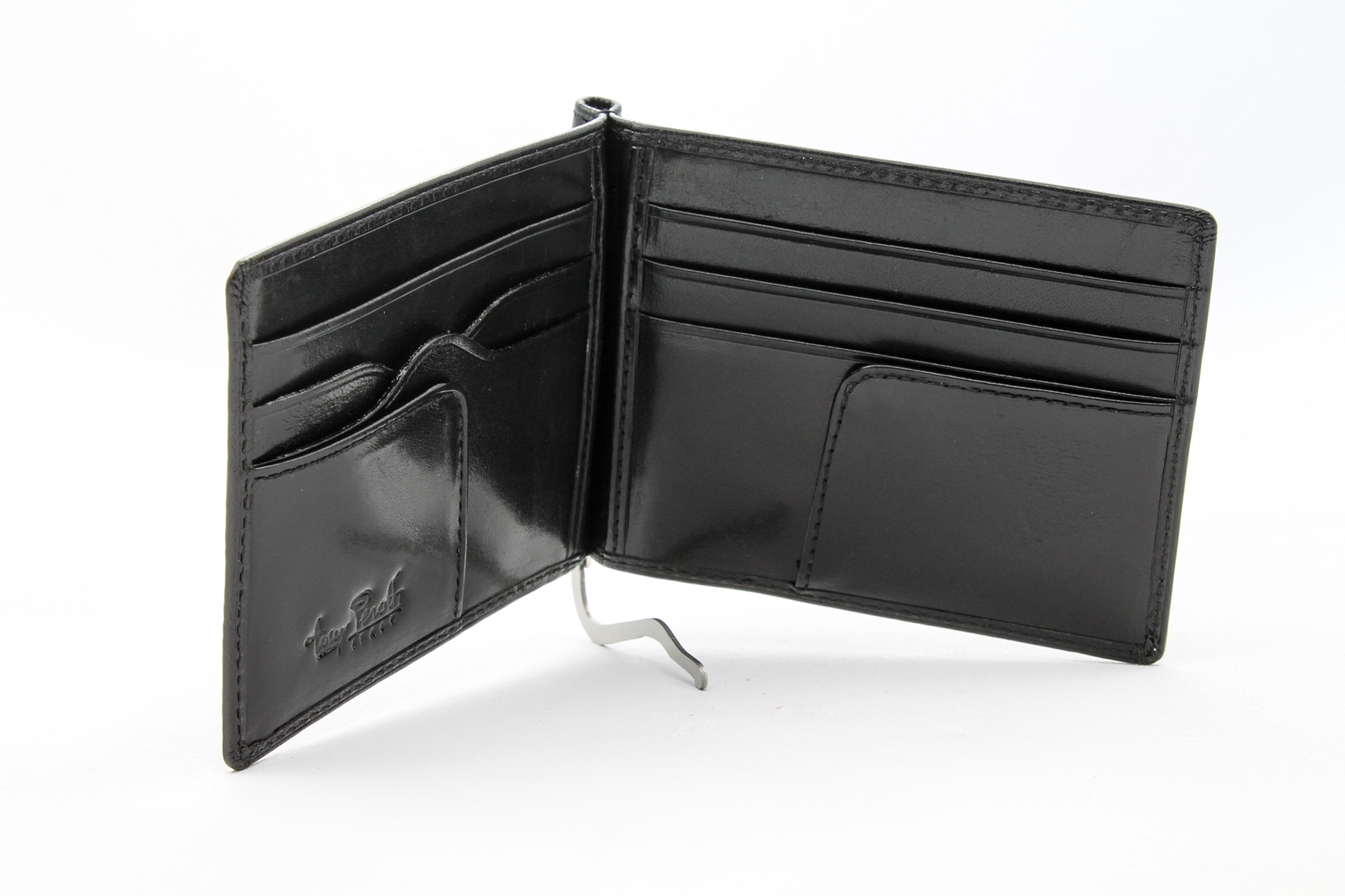 Tony-Perotti-Italian-Leather-Executive-Credit-Card-Money-Clip-Wallet thumbnail 3