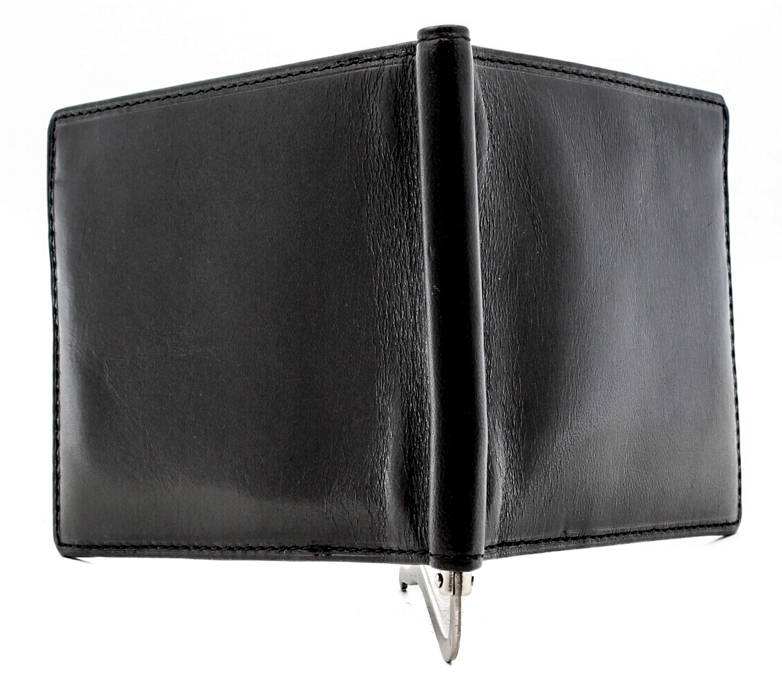 Tony-Perotti-Italian-Leather-Executive-Credit-Card-Money-Clip-Wallet thumbnail 5