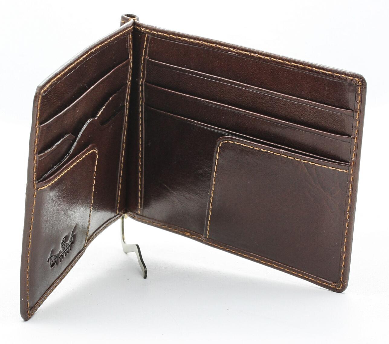 Tony-Perotti-Italian-Leather-Executive-Credit-Card-Money-Clip-Wallet thumbnail 8