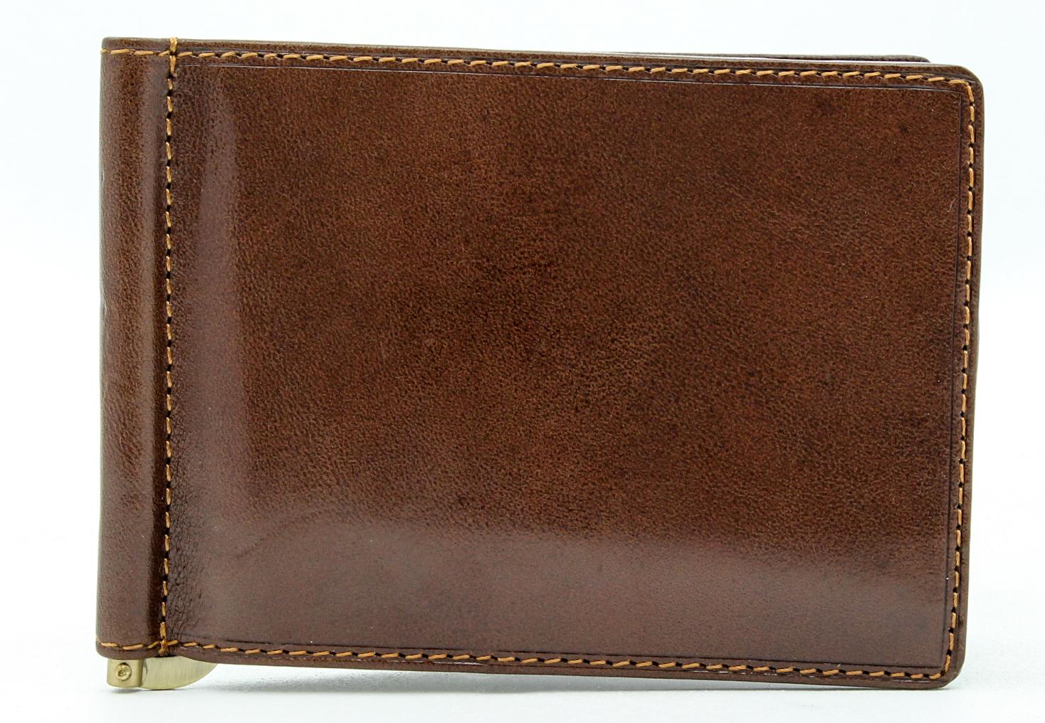 Tony-Perotti-Italian-Leather-Executive-Credit-Card-Money-Clip-Wallet thumbnail 7