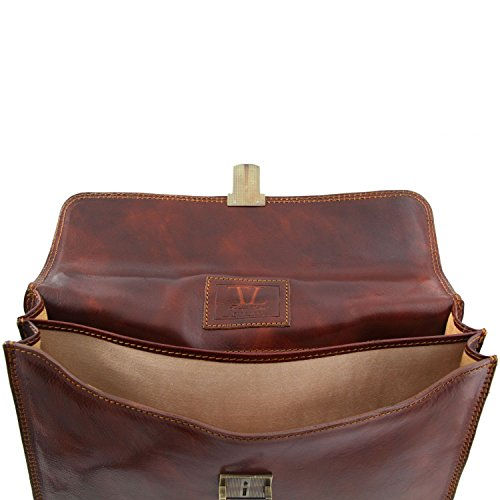 Parme Cuir Parme Leather Sacoche Sacoche Tuscany Leather Tuscany 1pnH8