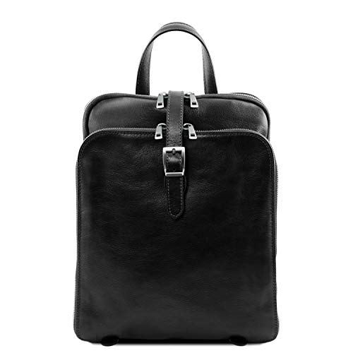 Compartiments Sac Leather À Tl141239 Taipei Tuscany Cuir Dos noir 3 wptq4xnI