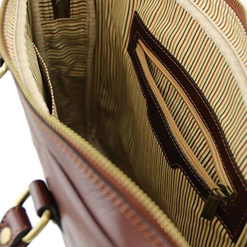 Prato Leather Main Noir Exclusive Tuscany À Sacs De Cuir Sacoche Pc Portable 7fw5Oq
