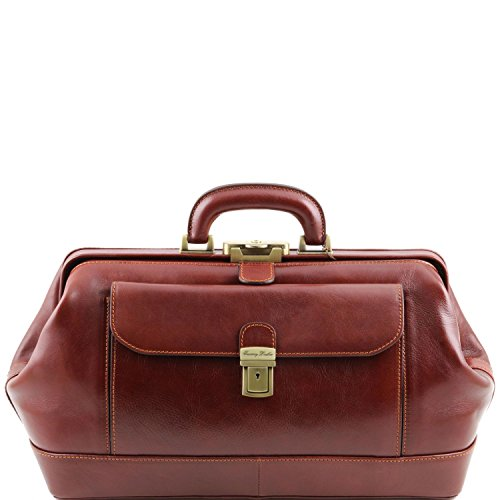 Tuscany Leather - Bernini - Exclusivo Cuero Doctor Bolso brown - TL141298 1