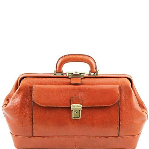 Tuscany Leather Bernin - Exclusive Cuir Docteur Sac Miel Docteur Sacs